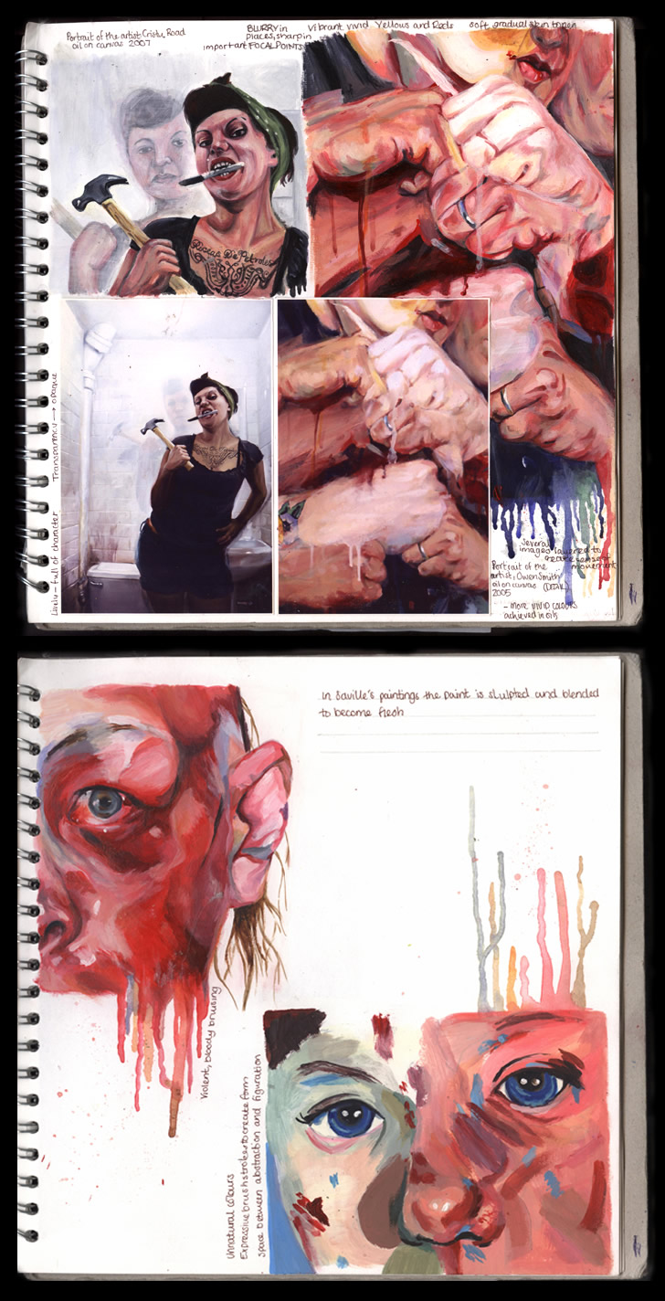 tips for producing an amazing gcse or a level art sketchbook a level art sketchbook 100%