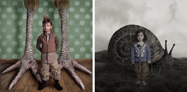 surrealist photography by Lorna Freytag