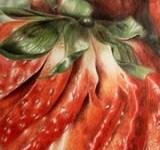 coloured-pencil-strawberry-drawing