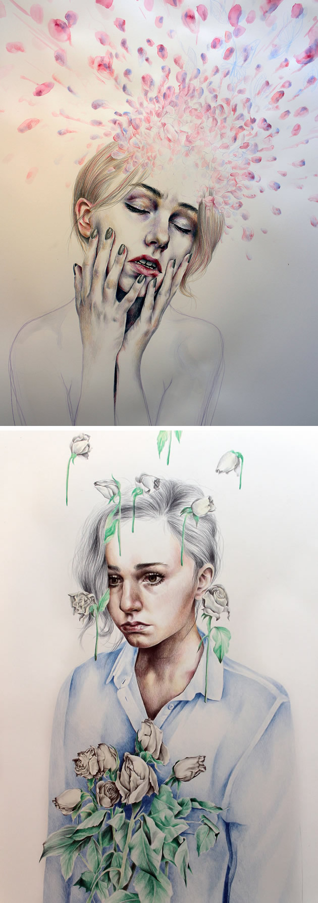 18 year old artist Kate Powell