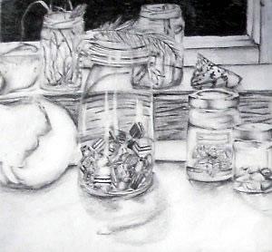 a level art coursework death