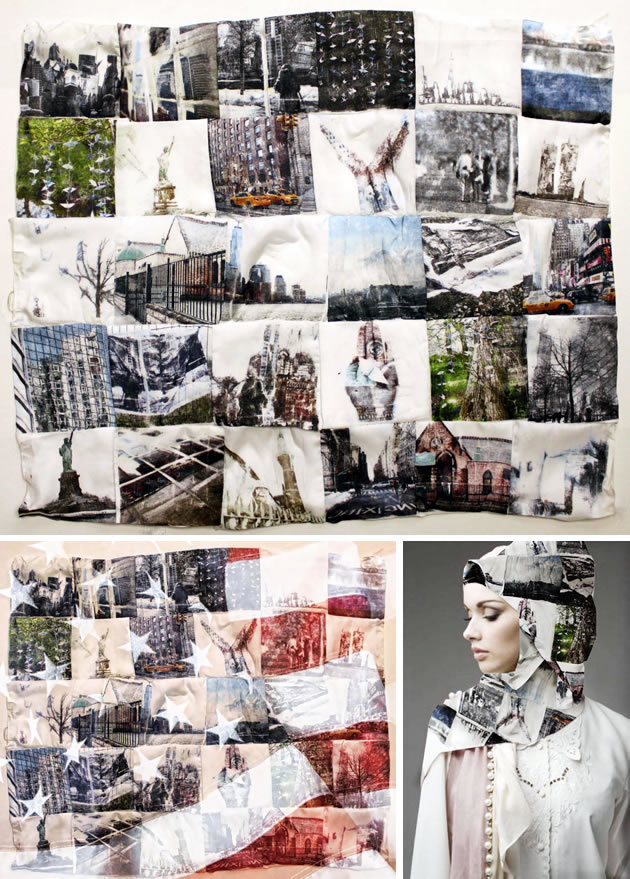 A Level Photography patchwork quilt