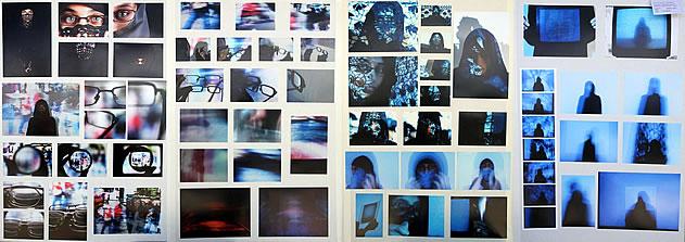 A level photography portfolio exploring identity