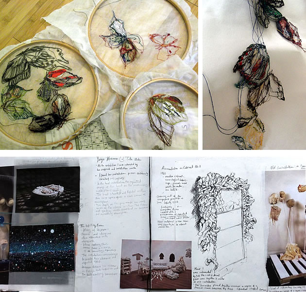 A Level textiles ideas