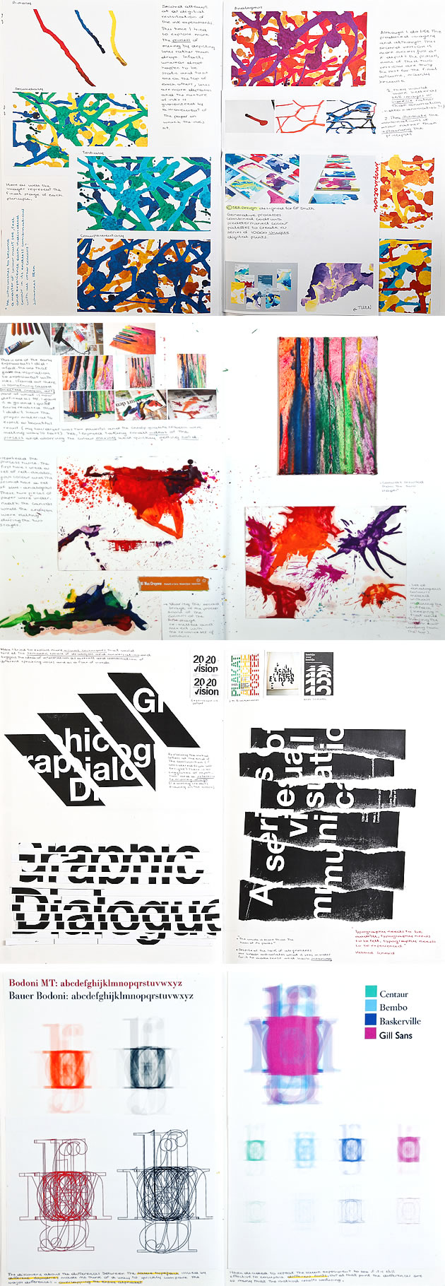 graphic design sketchbook ideas 22 inspirational examples design sketchbook experimentation