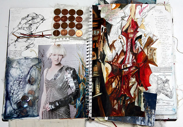 fashion design sketchbook ideas