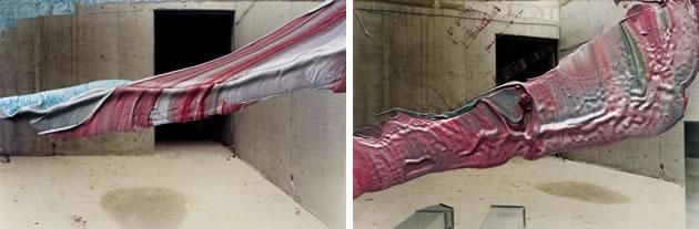 Gerhard Richter overpainted photographs