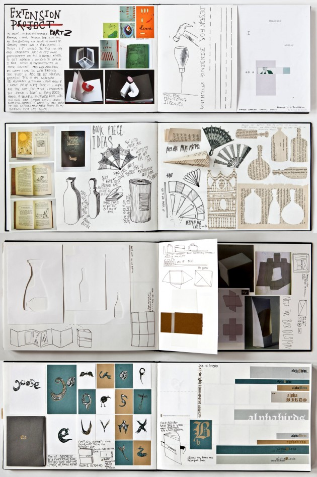 a level graphics sketchbook - Ideas For Graphic Design Projects