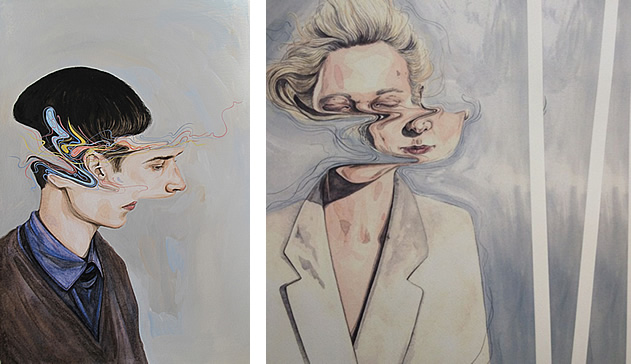 portraits by artist Henrietta Harris