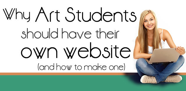How to create an artist website for free