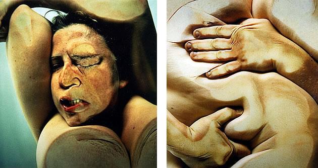 jenny saville photography of bodies