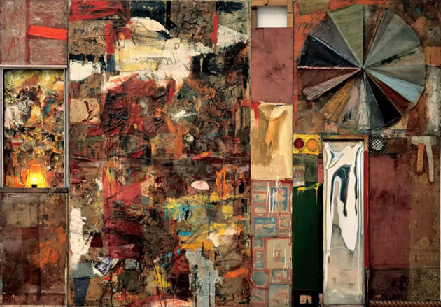 robert rauschenberg collage artwork