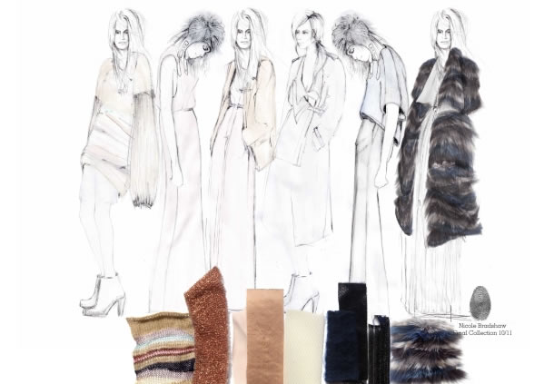 Textiles and Fashion Design Sketchbooks - 20 Inspirational Examples