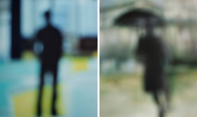 unfocused photography by Bill Armstrong