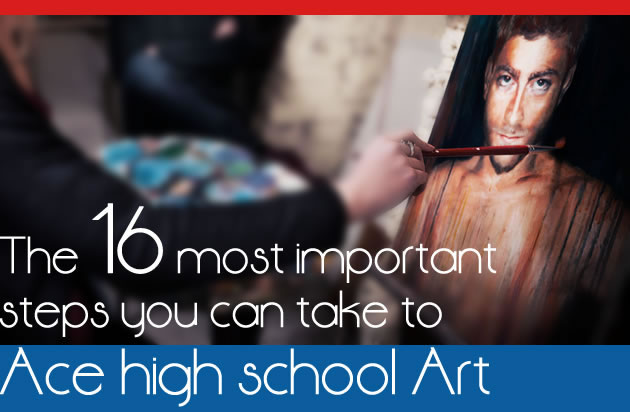 steps to become a high achieving art student