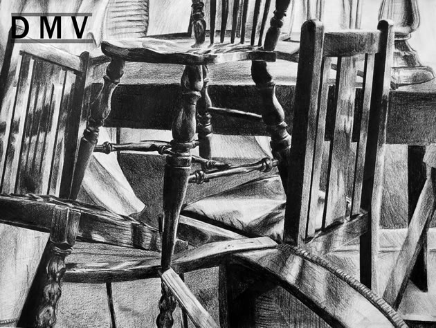 drawing of chairs