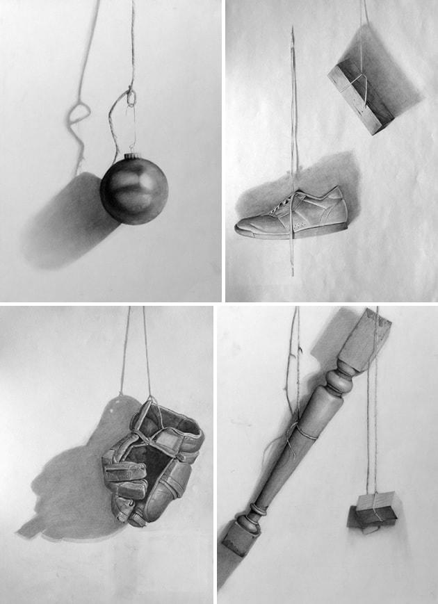 hanging still life