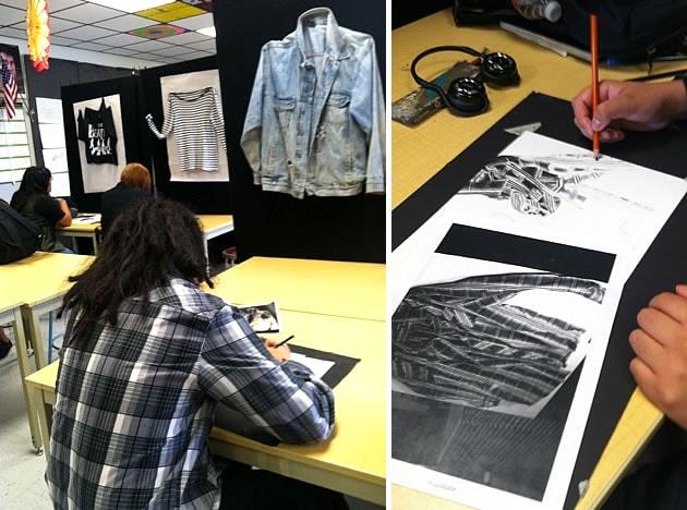 still life: drapery and clothing