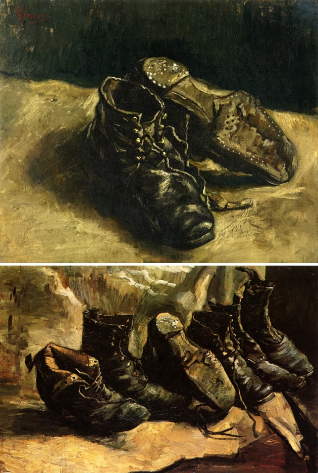 Vincent van Gogh, still life with shoes