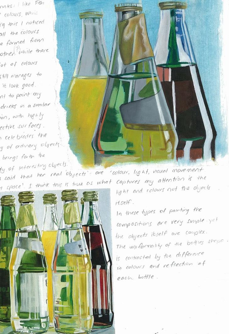 Janet Fish artist study