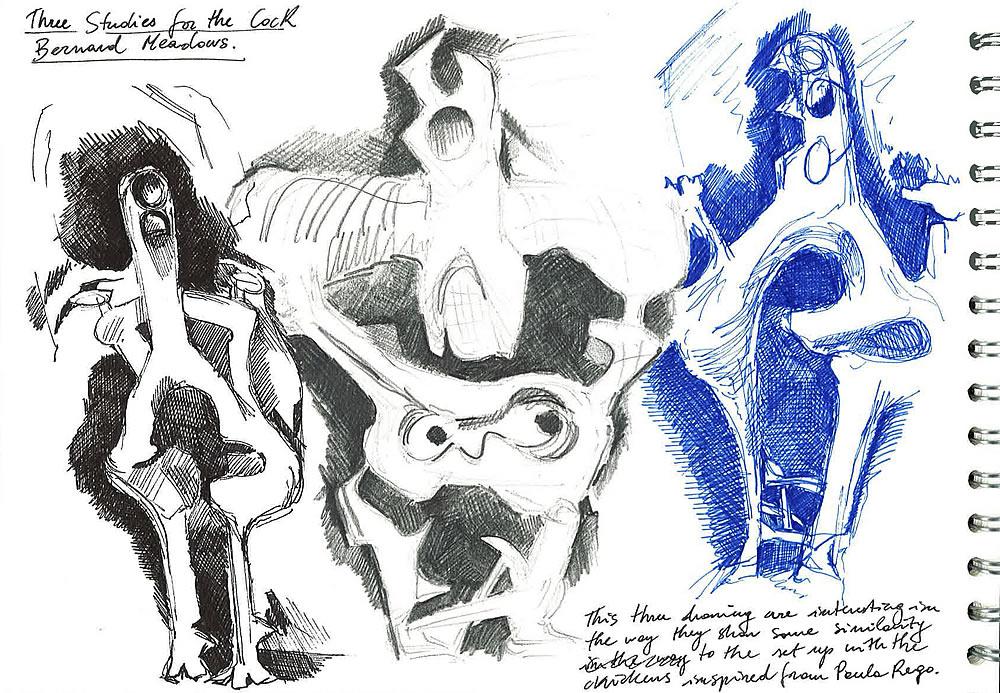 Bernard Meadows artist study