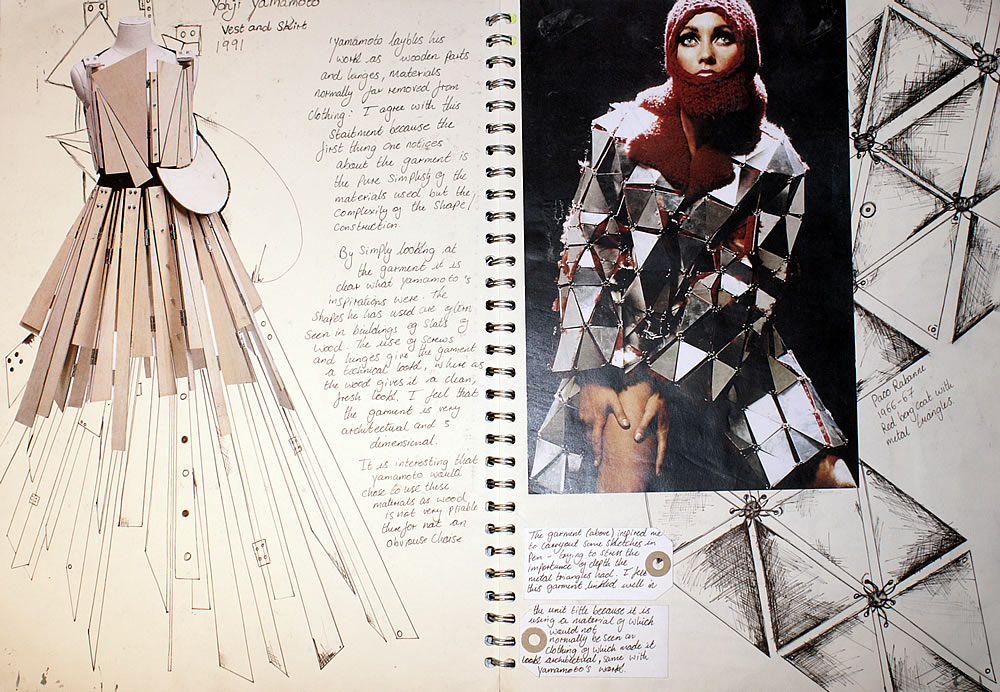 Fashion design study - conceptual model