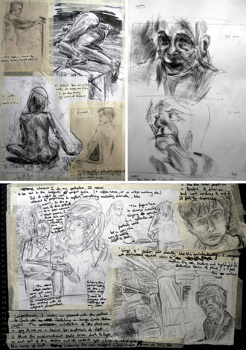 Art Sketchbook Ideas: Creative Examples to Inspire High