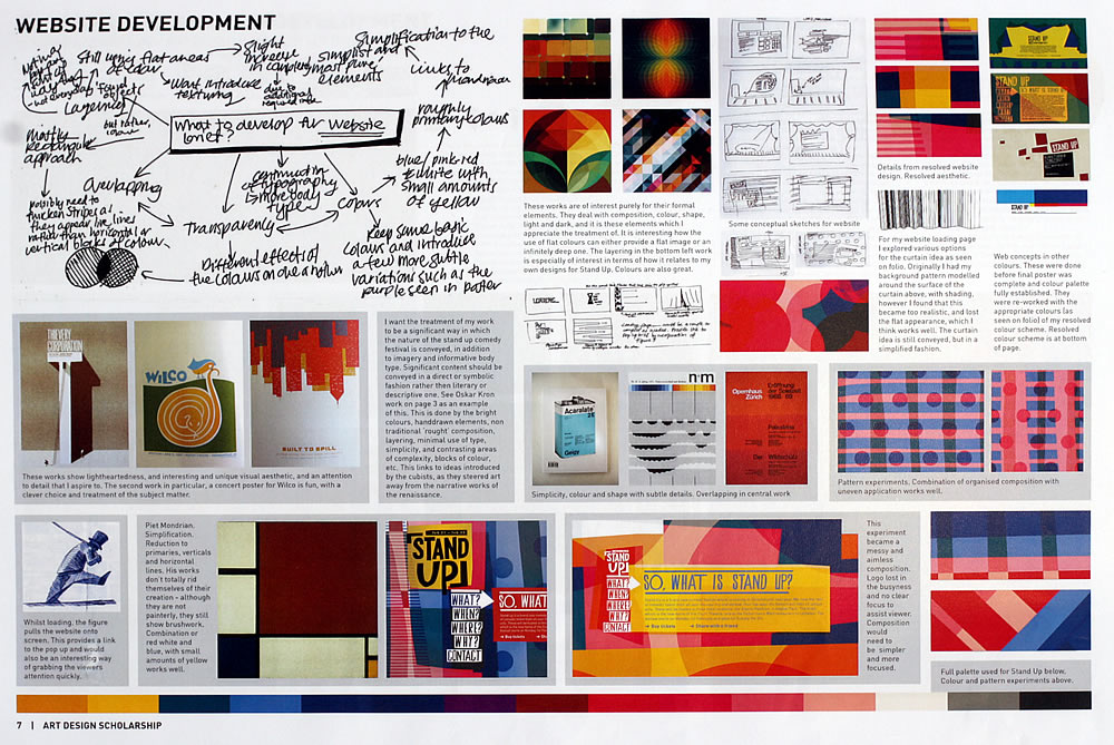 NCEA Design folio