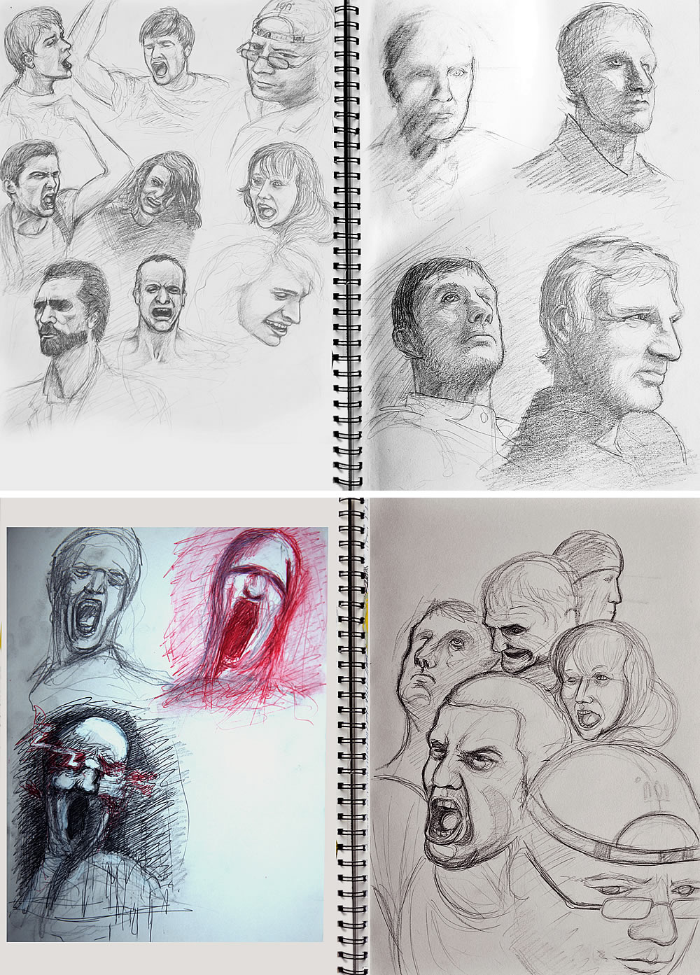 Sketchbook portraits
