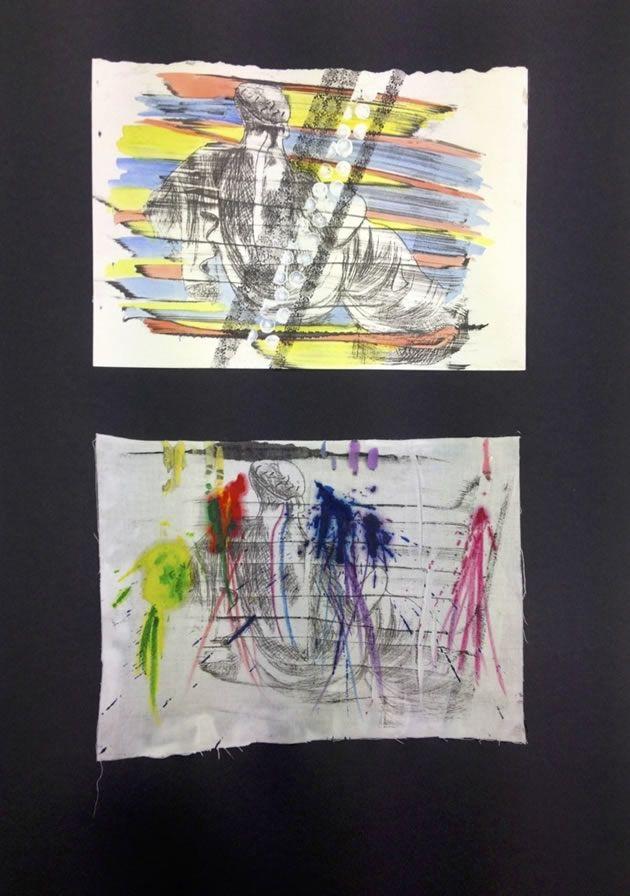 abstract IGCSE Art