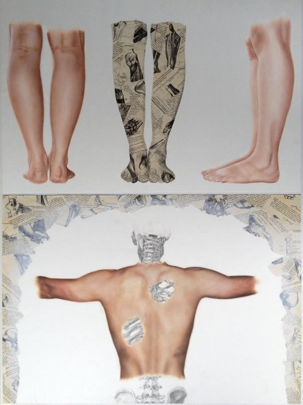 Study of the human form: A Level Art