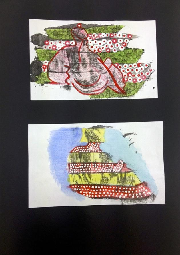 Printmaking IGCSE Art