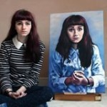 Art student gains huge social media following, launches career at high school