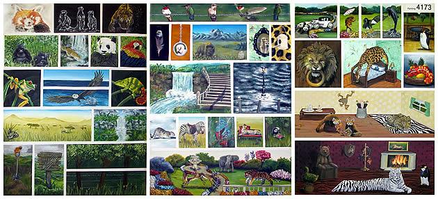 ncea level 3 painting folio