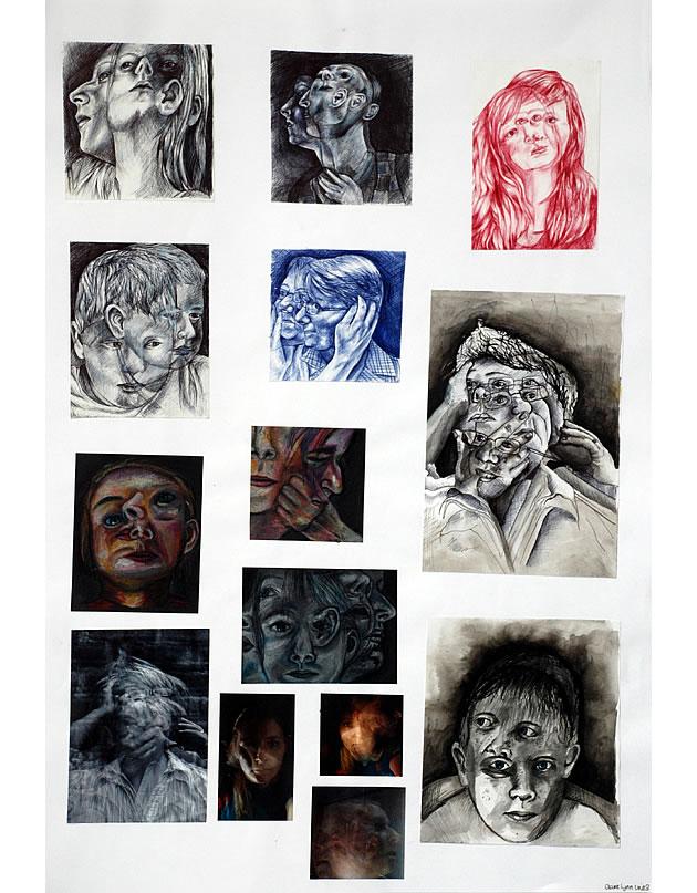 A2 Art folder