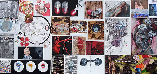 IGCSE Art and Design  An exemplary Coursework Project Student Art Guide