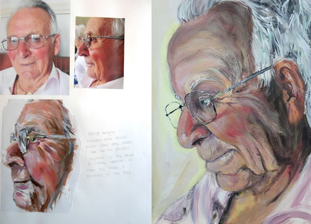 A Level portraiture age