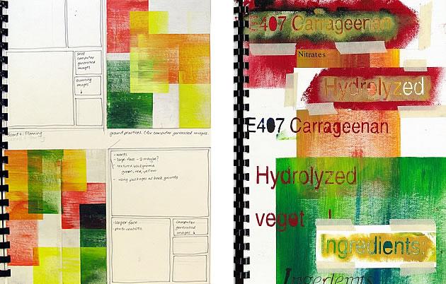a level art sketchbook ideas A2