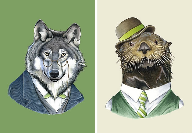 animal prints by berkley illustration