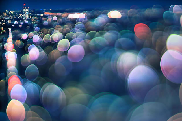 Bokeh photography by Takashi Kitajima