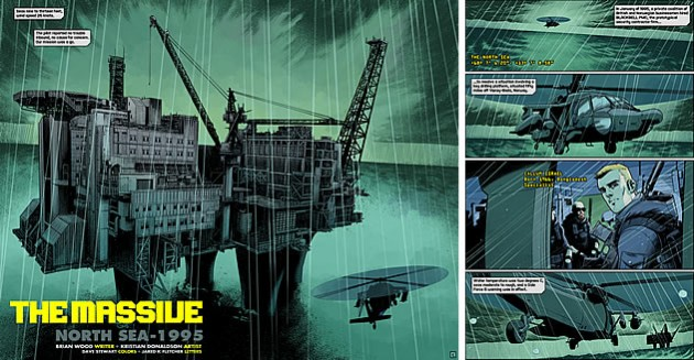 Brian Wood illustration - The Massive