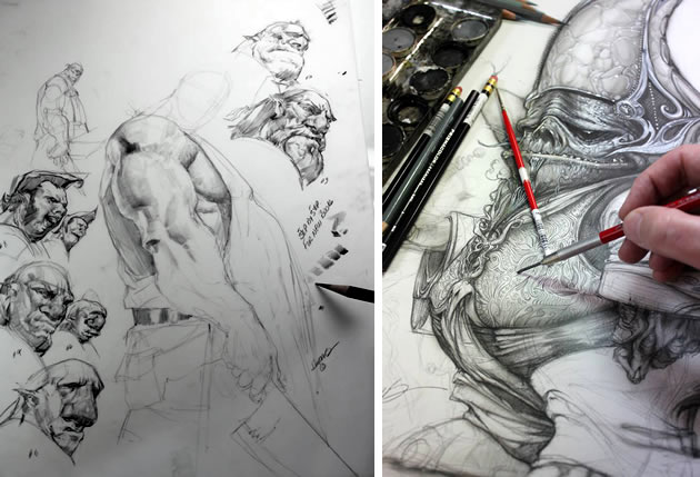 Best Character Design Artist : Graphic design sketchbook ideas inspirational examples