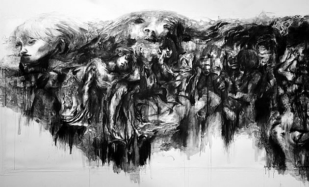 charcoal drawing ideas