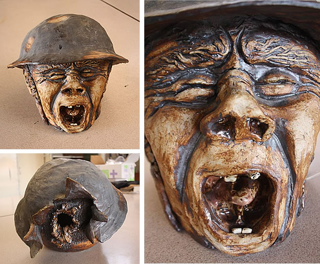 clay sculpture a level art