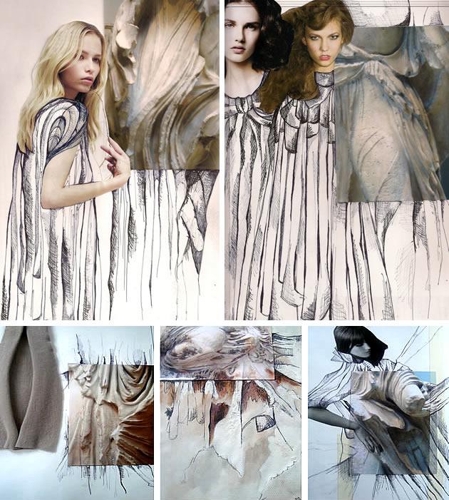Textiles And Fashion Design Sketchbooks 20 Inspirational