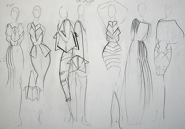 fashion design sketch - Fashion Design Ideas