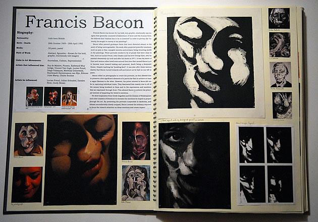 Francis Bacon artist study