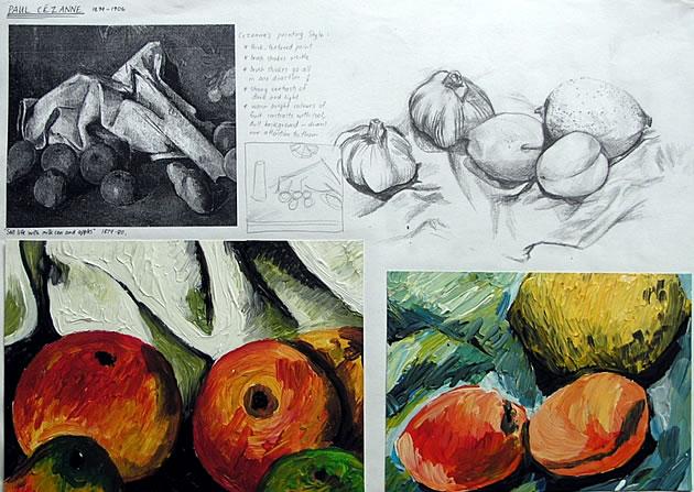 tips for GCSE Art sketchbooks