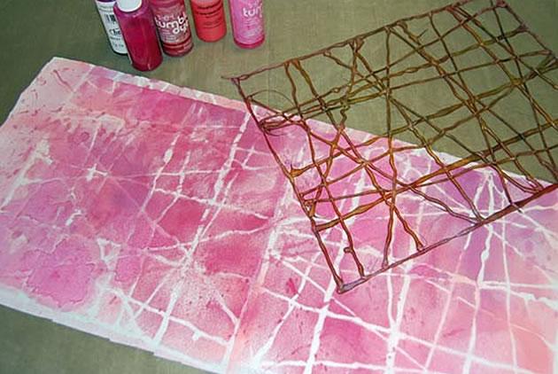 hot glue print
