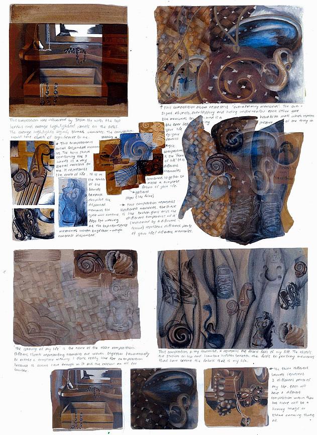 igcse art portfolio example